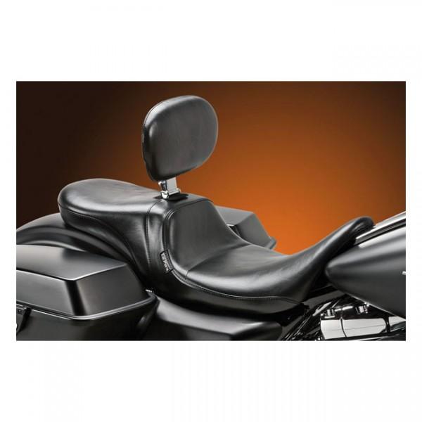 """LEPERA Seat - """"LePera, Daytona 2-up seat. With rider backrest"""" - 08-20 Touring"""