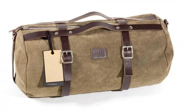 "UNITGARAGE Gepäckrolle - ""Kalahari Duffle Bag 25L"" - Wildleder"