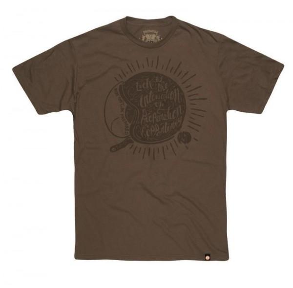 "ROLAND SANDS T-Shirt - ""Lucky"" - military green"
