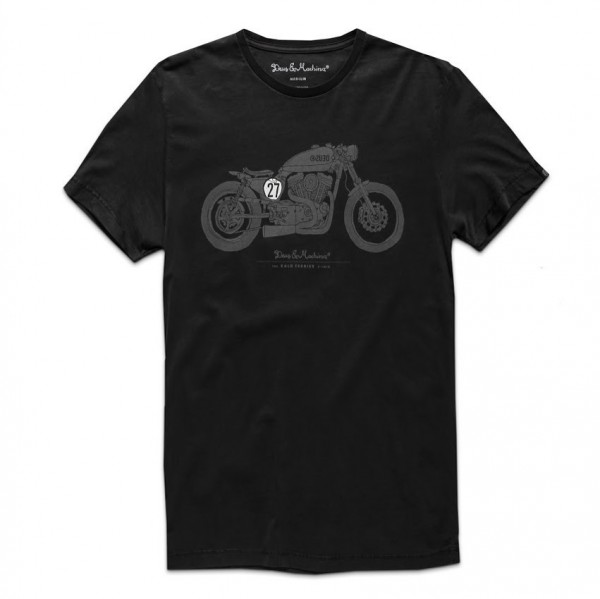 "DEUS EX MACHINA T-Shirt - ""Bald Terrier"" - black"