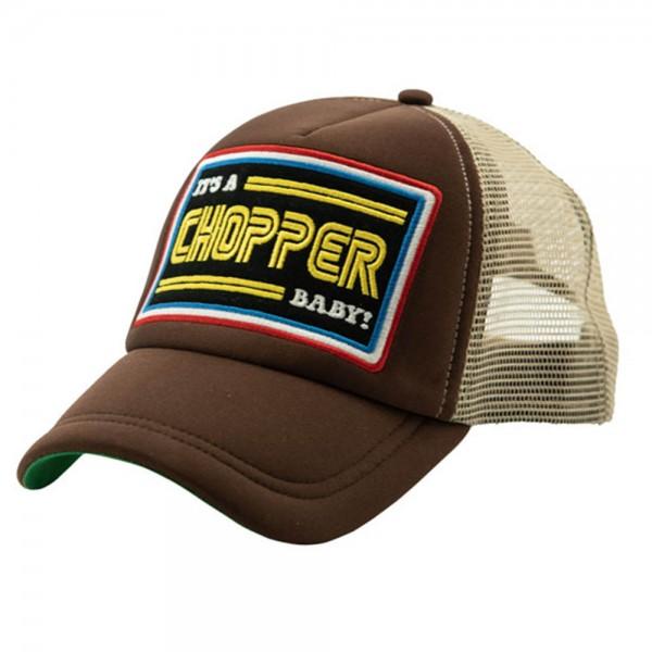 13 1/2 MAGAZINE IACB Trucker Cap in braun