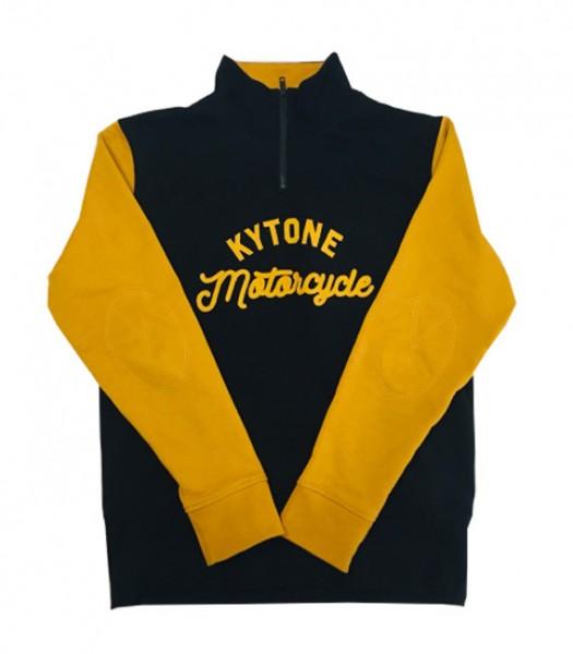 "KYTONE Sweatshirt - ""Racer"" - schwarz & gelb"