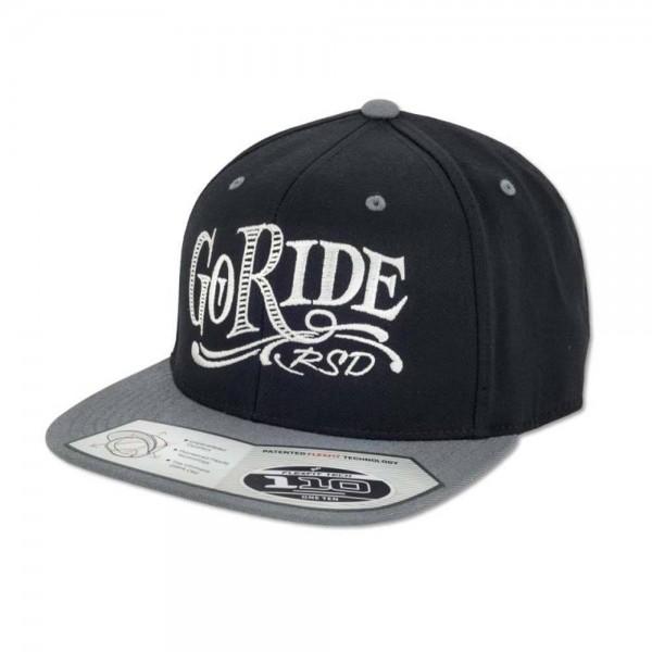 """ROLAND SANDS Cap - """"Go Ride"""" - schwarz"""