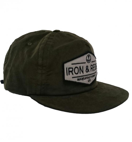 "IRON & RESIN Cap - ""Terrain"" - olive"