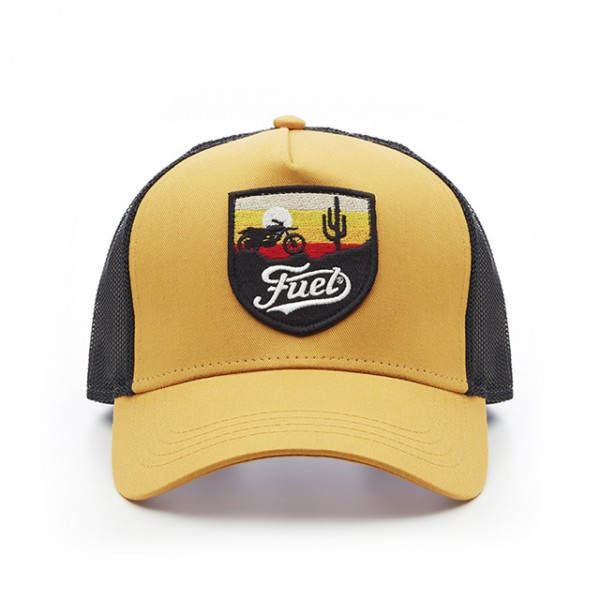 FUEL hat Baja in yellow and black
