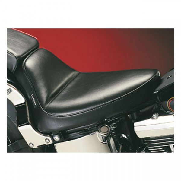 """LEPERA Sitz - """"Cobra solo seat. Smooth"""" - 08-17 Softail (excl. FXS, FLS/S) with 150mm tire (fender m"""