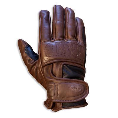 """ROLAND SANDS Handschuhe - """"Mission"""" - tobacco-braun"""