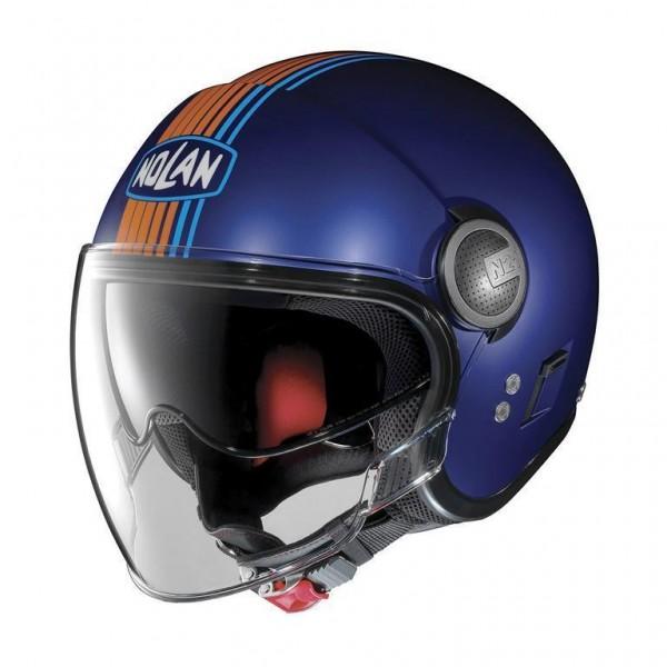 NOLAN N21 VISOR Joie Flat Cayman Blue 36 Open Face Helmet