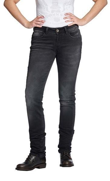 "ROKKER Damen Jeans - ""The Donna"" - schwarz"