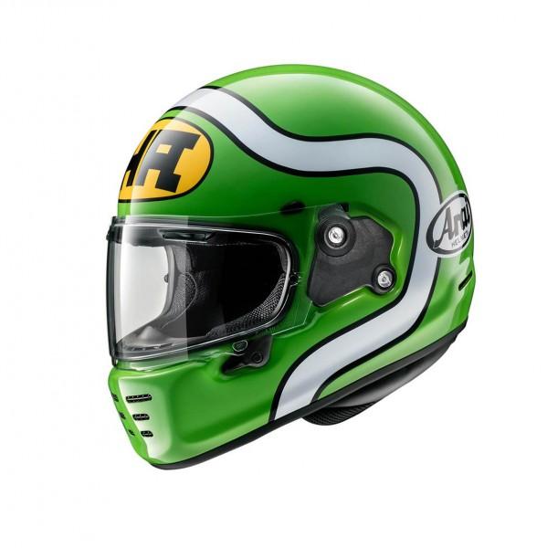 """ARAI Helmet Concept X """"HA Green"""" ECE"""