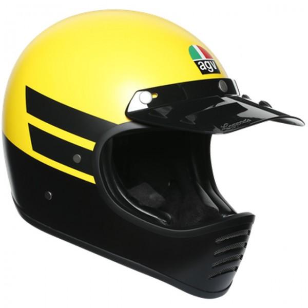 AGV X101 Dust Matt Yellow/Black