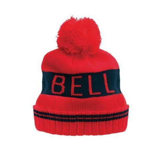 """BELL Beanie - """"Retro Beanie"""" - red-black"""