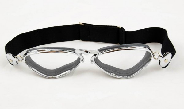 AVIATOR Klassische Brille Mod 4400 chrom und gummi