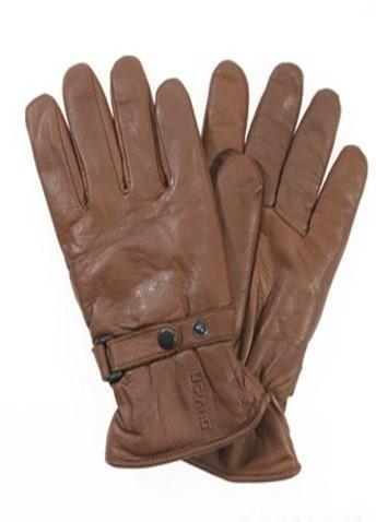 "DAVIDA Women's Gloves - ""Shorty"" - brown"