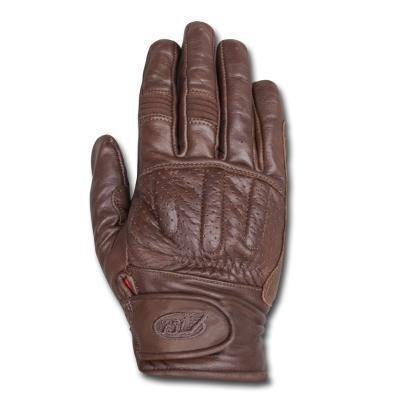 "ROLAND SANDS Gloves - ""Barfly"" - tobacco"