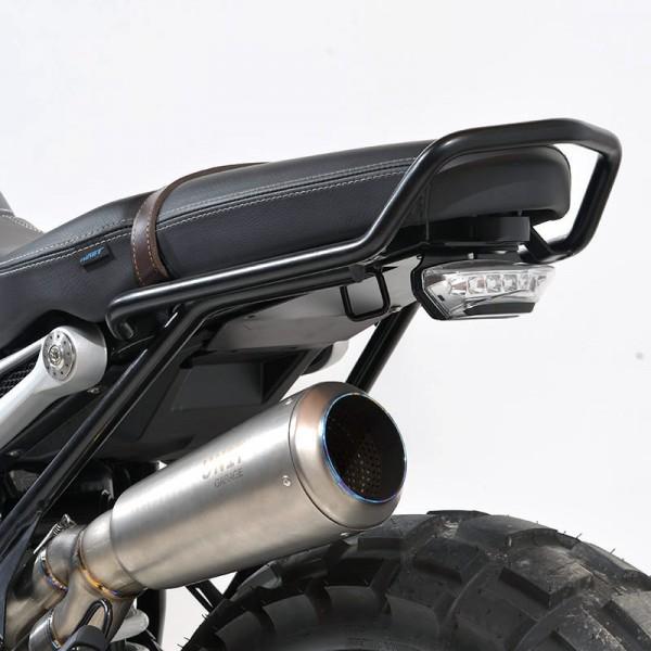 """UNITGARAGE - """"Support Plate Rear Light NineT"""" for BMW - black"""