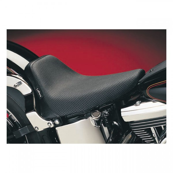 "LEPERA Seat - ""LePera, Bare Bones solo seat. Basket Weave"" - 84-99 Softail (NU)"