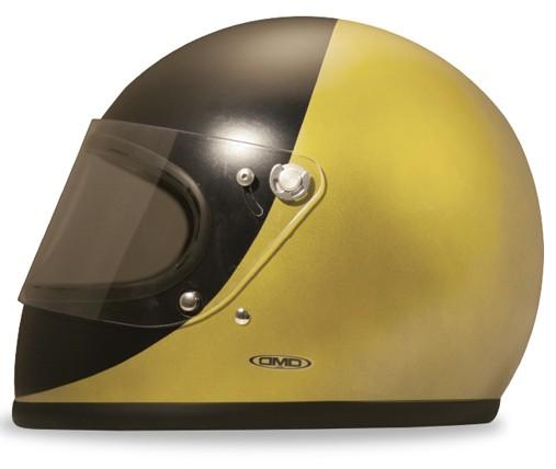 DMD Rocket Carbon Handmade Golden Motorradhelm