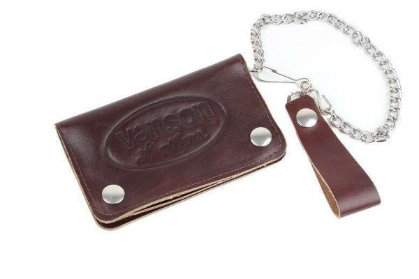 Vanson Leathers Wallet 3 brown