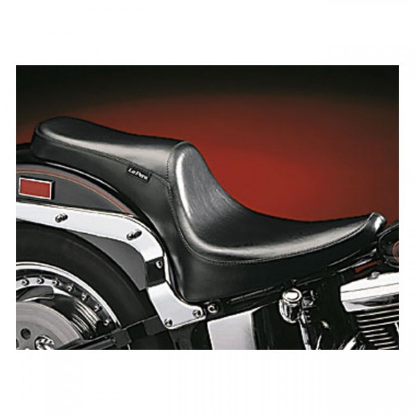 """LEPERA Sitz - """"Silhouette Deluxe 2-up seat"""" - 00-17 Softail with up to 150mm rear tire (excl. Deuce)"""