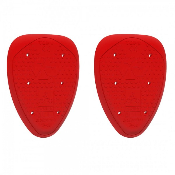 JOHN DOE XTM Hip Protector Level 2 Red