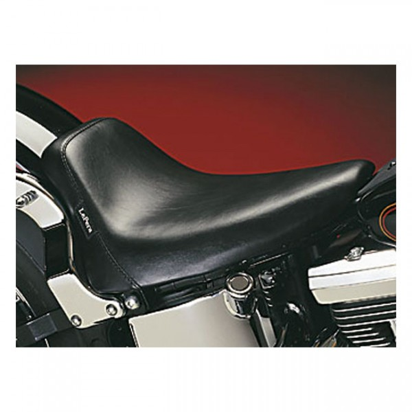 """LEPERA Seat - """"LePera, Bare Bones solo seat. Smooth. Gel"""" - 08-17 Softail (excl. FXS, FLS/S)(fender mounted with 150mm rear tire) (NU)"""