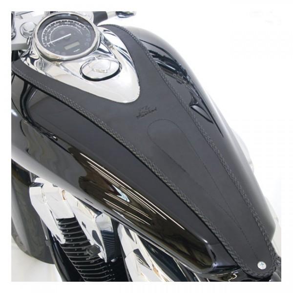 "MUSTANG Sitz - ""Mustang tank bib plain black"" - Honda 1100 Aero"