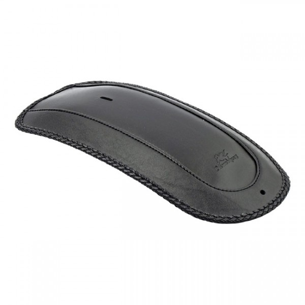 """MUSTANG Sitz - """"Mustang, rear fender bib. Plain with braided edges"""" - 91-05 Dyna (excl. FXDWG) (NU)"""