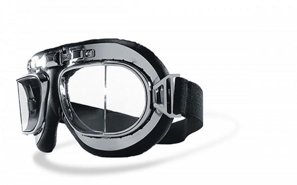 HELLY BIKEREYES - RB1 - Goggles chrome-clear