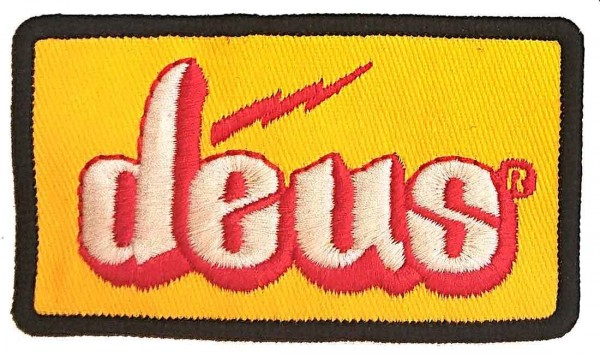 "DEUS EX MACHINA Patch - ""Red Bolt"""