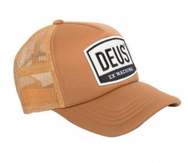 """DEUS EX MACHINA Hat - """"Moretown Trucker"""" - gold"""