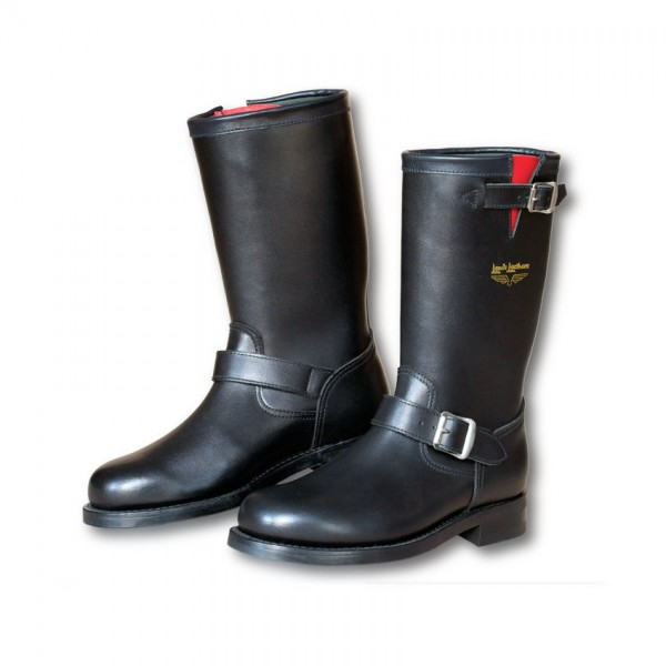 "LEWIS LEATHERS Motorcycle Boots - ""A10 Mechanic"" - black"