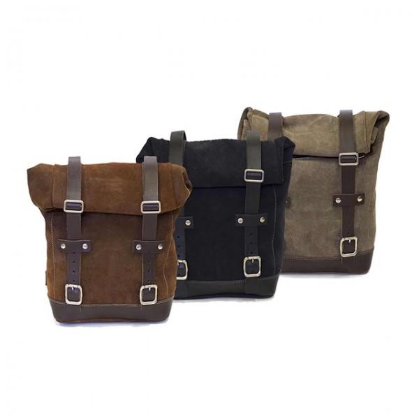 UNITGARAGE Seitentasche Wildleder 10 bis 14L