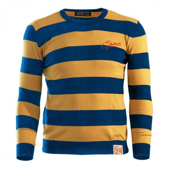 13 1/2 Magazine Sweater Outlaw in Gelb und Blau