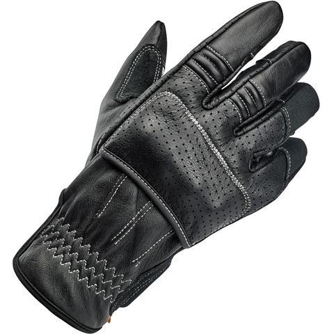 """BILTWELL Handschuhe - """"Borrego Black/Cement CE"""" - schwarz & weiß"""