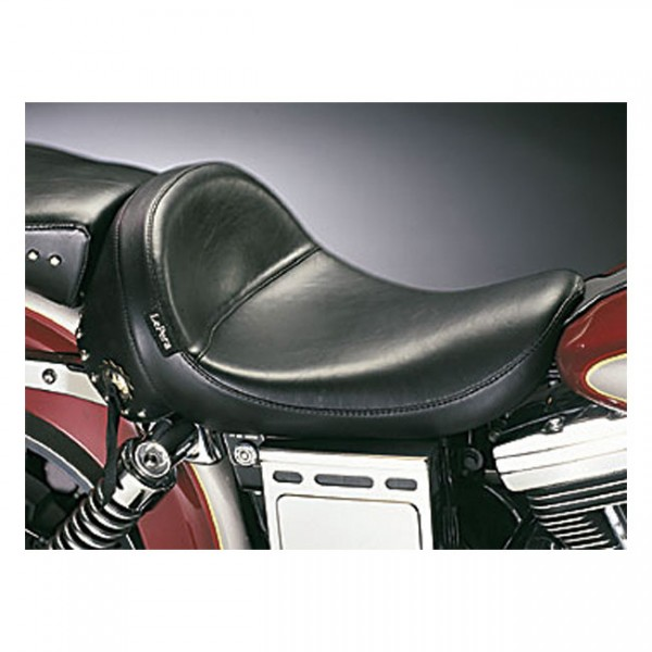 """LEPERA Sitz - """"Monterey solo seat. Smooth with skirt"""" - 04-05 Dyna (excl. FXDWG) (NU)"""
