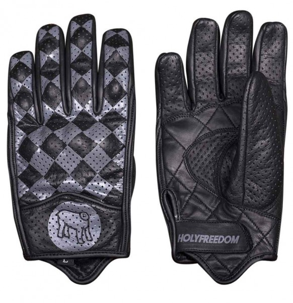 "HOLY FREEDOM Gloves - ""Bullit"" - grey"