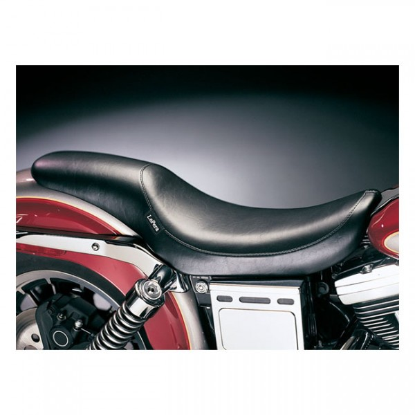 """LEPERA Seat - """"LePera, Silhouette seat. Basket Weave"""" - 04-05 Dyna (excl. FXDWG) (NU)"""