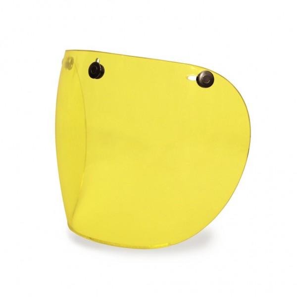 Hedon Hedonist Yellow Visor Gunmetal