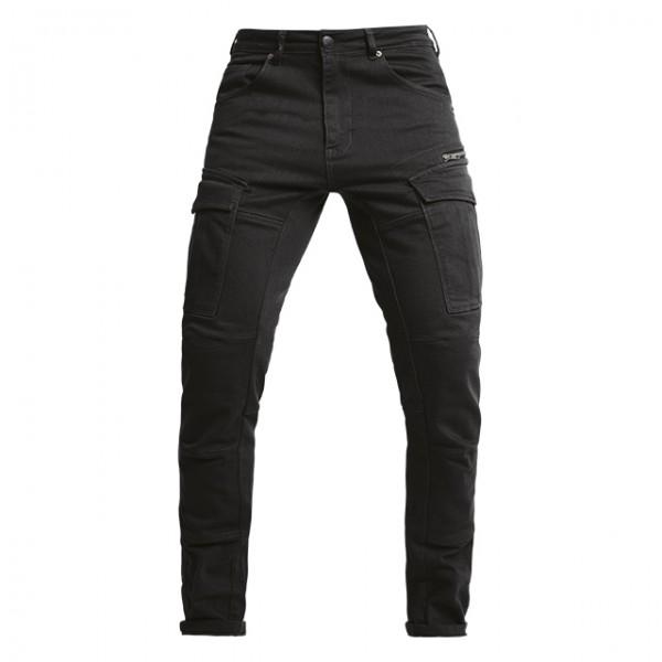 JOHN DOE cargo pants Defender Mono in black