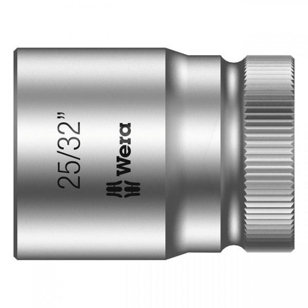 """WERA Werkzeug - """"Wera Zyklop 1/2""""-Nuss - US-Größen 25/32"""""""" - 1/2"""" drive"""