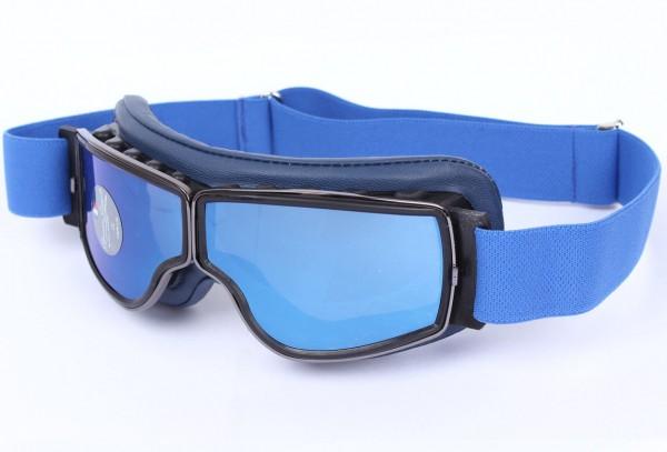 AVIATOR Brille T2 blau gunmetal blau verspiegelt