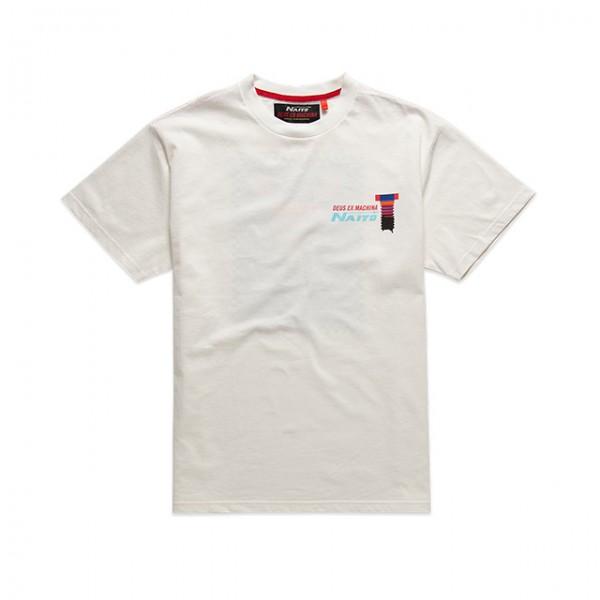 DEUS EX MACHINA t-shirt Naito Box Tee in vintage white