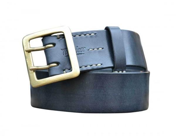 """TIMELESS LEATHER - """"Doppeldorn Belt 45er"""" - black"""