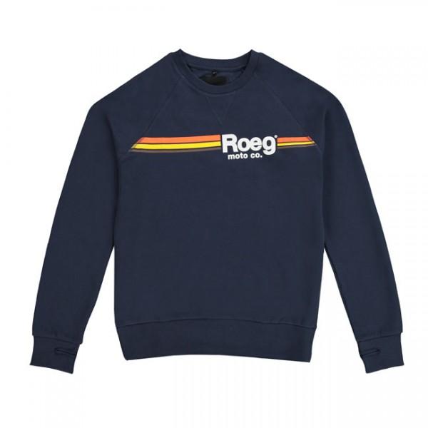 ROEG Sweatshirt Ton in navy blue