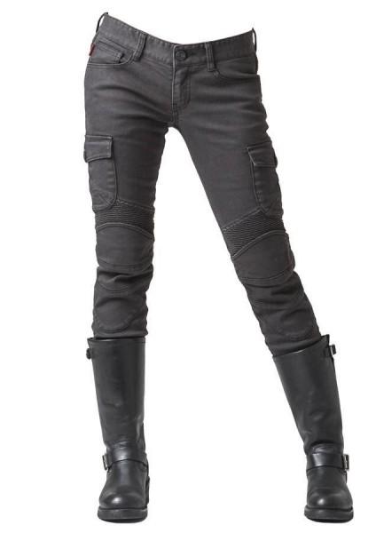 "uglyBROS Women's Jeans - ""Motorpool-G"" - charcoal"