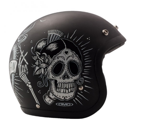 DMD Open Face Helmet Vintage Sin Fin