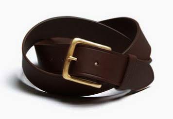 "ASHLEY WATSON - ""Ilkston Belt"" - brown"