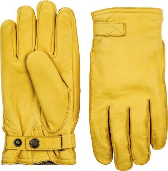 """HESTRA Handschuhe - """"Deerskin Wool Terry"""" - naturgelb"""