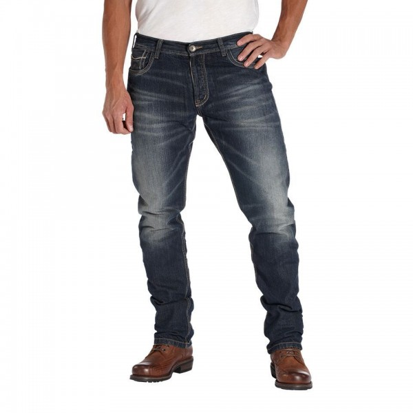 """ROKKER Jeans - """"Red Selvage Slim"""" - blau"""